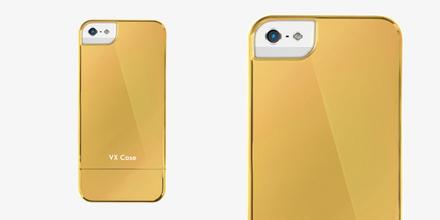 Vx Case Espelhada Dourada