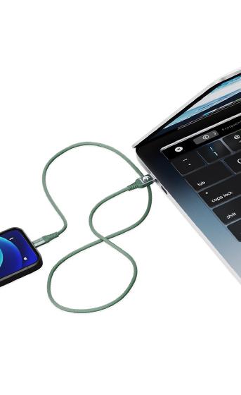 Transferência de dados entre um smartphone e um notebook através de um Cabo Dragon