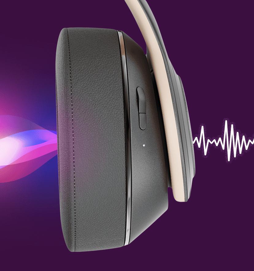 Headphone Evolution mostrando eficiência no isolamento acústico