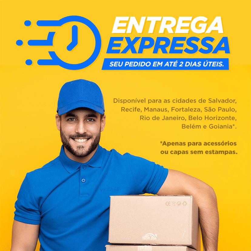 Entrega Expressa: Seu Pedido em até 2 dias úteis
