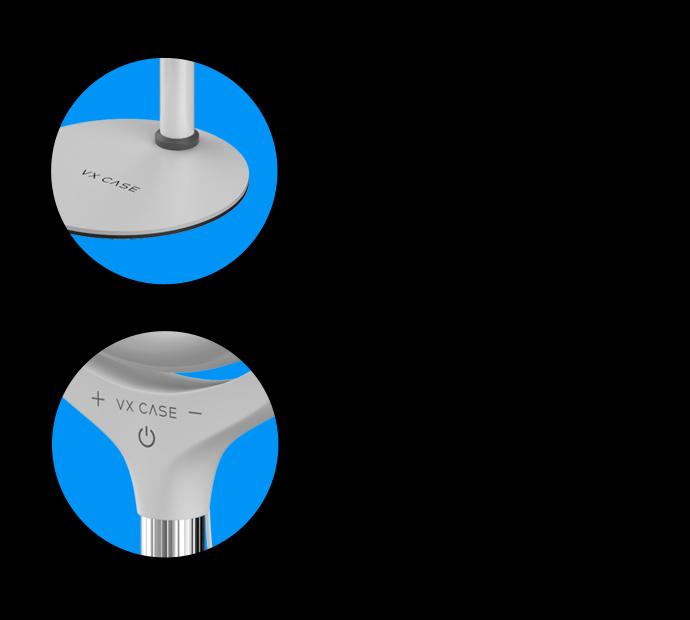 Base do produto Ring Light