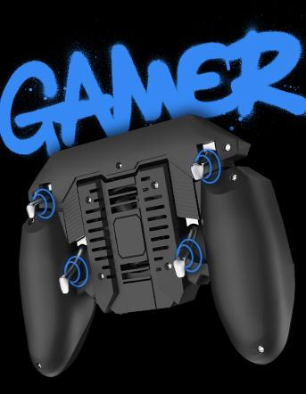 Produto VXGamepad com inscrição 'gamer'