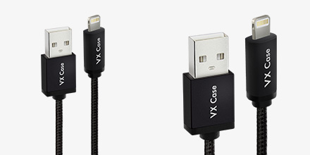 Cabo USB MEGA Resistente MFI VX Cas