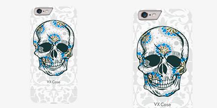 Capa Vx Case Skull