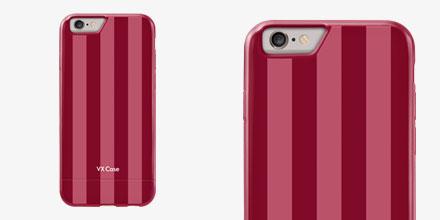 Capa VX Case Pink e Vermelho