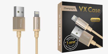 Cabo USB MEGA Resistente MFI VX Case