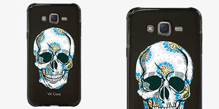 Capa de Silicone VX Case Skull